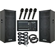 Gear One PA2400 / Kustom KPC215H PA Package