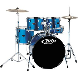 PDP Z5 5-Piece Drum Set with Cymbals (PDZ522KCAB)