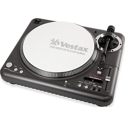 Vestax PDX-3000mkII Professional Direct Drive turntable with MIDI-thumbnail