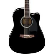 Ibanez PF Series PF15ECE Dreadnought Cutaway Acoustic-Electric Cutaway Guitar
