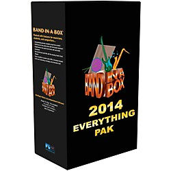 PG Music Band-in-a-Box 2014 EverythingPAK (Win-Portable Hard Drive) (BBE40753)