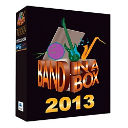 PG Music Band-in-a-Box Pro 2013 MAC (Mac-DVD) (BBE30705)