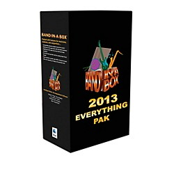 PG Music Band-in-a-Box Pro 2013 MAC EverythingPAK (Mac-Hard Drive) (BBE30754)