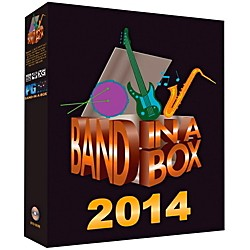 PG Music Band-in-a-Box Pro 2014 (Windows DVD-ROM) (BBE40692)