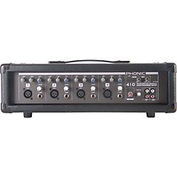 PHONIC Powerpod 410 Powered Mixer with Mic and Speaker Cables (POWERPOD 410)