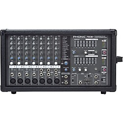 PHONIC Powerpod 780 Plus 2X300W 7-Channel Powered Mixer with Digital Effects (POWERPOD 780 PLUS)