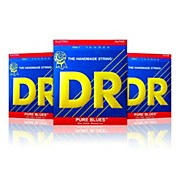 DR Strings PHR-9 Light Pure Blues Electric Strings - Buy Two, Get One Free