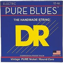 DR Strings PHR10 Pure Blues Nickel Medium Electric Guitar Strings