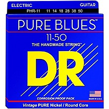 DR Strings PHR11 Pure Blues Nickel Heavy Electric Guitar Strings