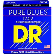 DR Strings PHR12 Pure Blues Nickel Extra Heavy Electric Guitar Strings