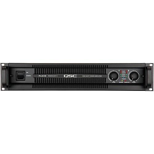 QSC PL340 PowerLite Amplifier-thumbnail