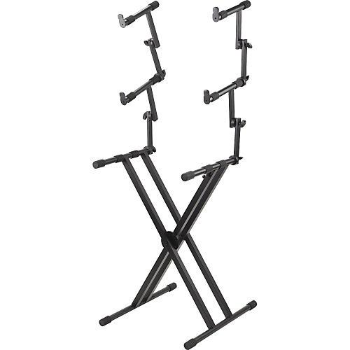 Proline PL403 3 Tier Double X-Braced Keyboard Stand-thumbnail