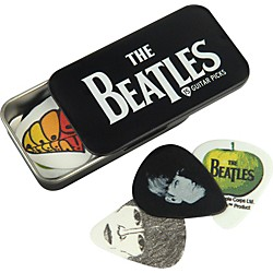 PLANET WAVES Beatles Logo Pick Tin - 15 Medium Picks (1CAB4-15BT1)