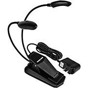 Proline PLD4A Dual Head Gooseneck Music Stand Light with 4 LEDs and AC Adapter
