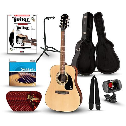 Epiphone PR-150 Acoustic Guitar Deluxe Bundle-thumbnail