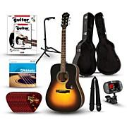 Epiphone PR-150 Acoustic Guitar Deluxe Bundle