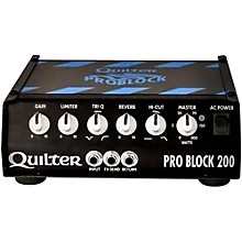 Quilter PRO BLOCK 200-HEAD ProBlock 200 200W Guitar Amp Head