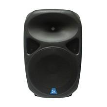 "Gem Sound PXB150USB 15"" Powered Speaker with USB/SD Media Player/Wheels"
