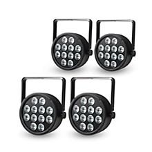 Proline Package of 4 ProLine VENUE ThinTri64 RGB LED PAR Stage Wash Lights