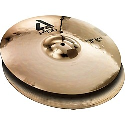 Paiste Alpha Rock Hi-Hat Pair with Brilliant Finish (883414)