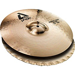 Paiste Alpha Sound Edge Hi-hat Pair, Brilliant (883114)