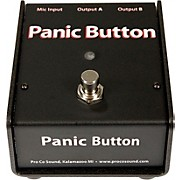 Pro Co Panic Button Mic A/B Box