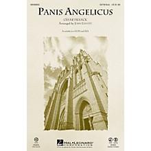 Hal Leonard Panis Angelicus SATB Chorus and Solo arranged by John Leavitt