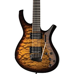 Parker Guitars PDF 105 Radial with Seymour Duncan Humbuckers Electric Guitar (USM-PDF105QVSB)