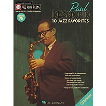 Hal Leonard Paul Desmond Jazz Play-Along Series (Book/CD)