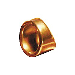 "Peaceland Guitar Ring 1"" Brass Guitar Ring Slide (B3110KR)"