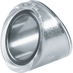 "Peaceland Guitar Ring Glass Guitar Ring Slide - 3/4"" (GB2090KR)"