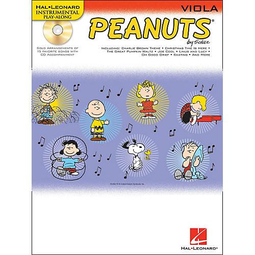 Hal Leonard Peanuts for Viola - Instrumental Play-Along Book/CD