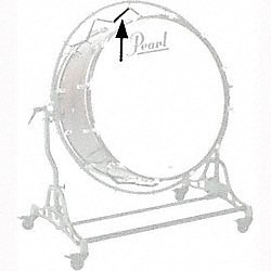 Pearl BD015 Rubber Band For Concert Bass Drum Stand (BD015)