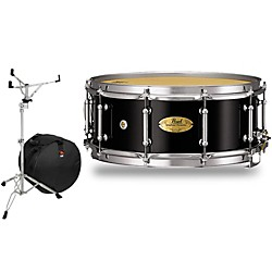 Pearl Concert Series Snare Drum with Stand and Free Bag (CRP1455103-SSB)