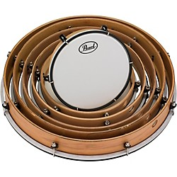 Pearl Key-Tuned Frame Drums Set (PFR0818C)
