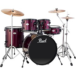 Pearl Sound Check 5-Piece Drumset with Cymbals and Hardware (SCXB625P91-ZBT)