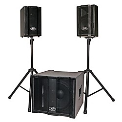 Peavey Triflex II 1000W Three-Piece, Two-Channel Sound System (3008830)