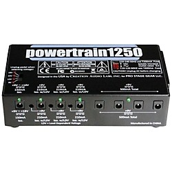 Pedaltrain POWERTRAIN 1250 Multi-Output Power Supply (PT-1250)