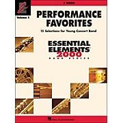 Hal Leonard Performance Favorites Volume 1 F Horn