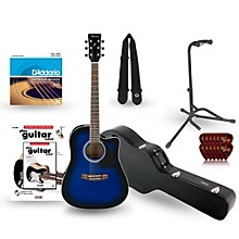 Ibanez Performance Series PF15 Cutaway Dreadnought Acoustic-Electric Guitar Deluxe Bundle