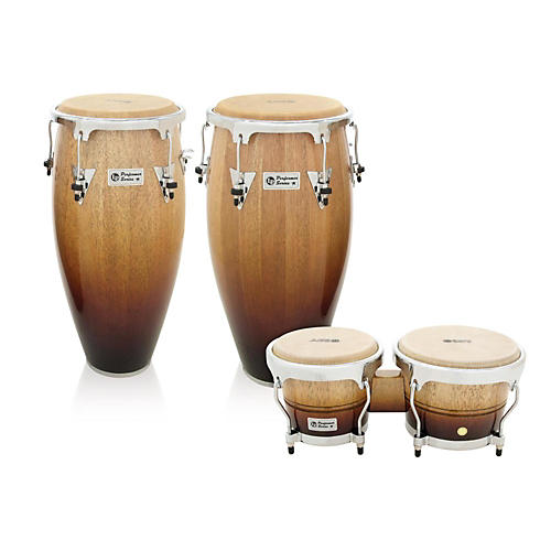 LP Performer Series 2-Piece Conga and Bongo Set with Chrome Hardware-thumbnail