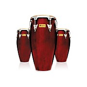 LP Performer Series 3-Piece Conga Set with Chrome Hardware
