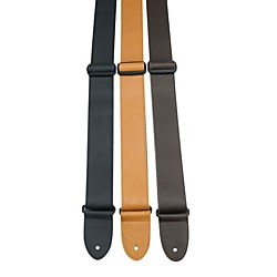 "Perri's 2"" Italian Soft Leather Guitar Strap With Adjustable Tri Glide (NWS555-C)"