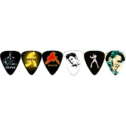Perri's Guitar Picks - 12 Pack of Elvis (LP12-EP1)