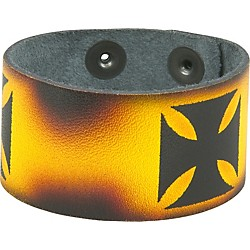 Perri's Leather Bracelet with Airbrushed Design (441)