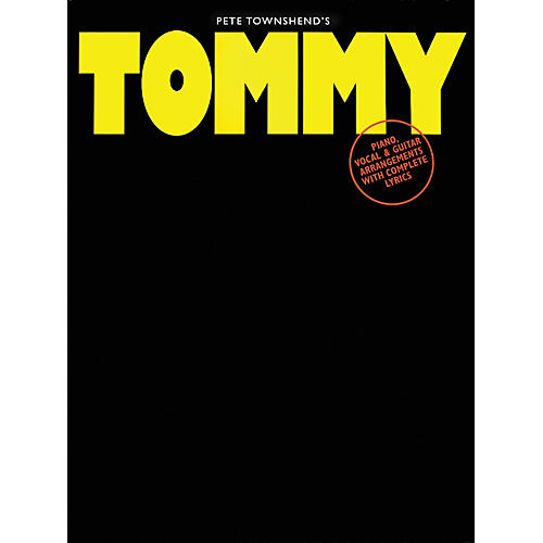 Hal Leonard Pete Townshend's Tommy Piano, Vocal, Guitar Songbook-thumbnail