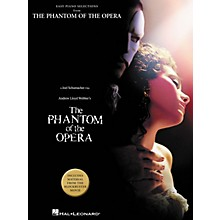 Hal Leonard Phantom Of The Opera From Blockbuster Movie For Easy Piano
