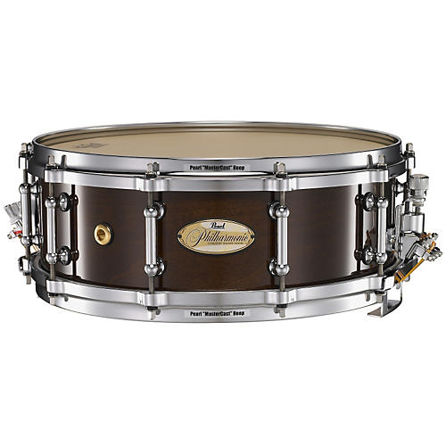 Pearl Philharmonic Solid Maple Snare Drum High Gloss Piano Black 14x5-thumbnail