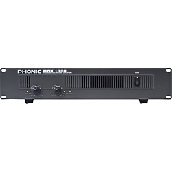 Phonic MAX 1000 Power Amplifier (MAX 1000)