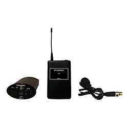 Phonic WL-1S Wireless Lavalier System (Receiver + Bodypack + Lavaliere) (WL-1S)